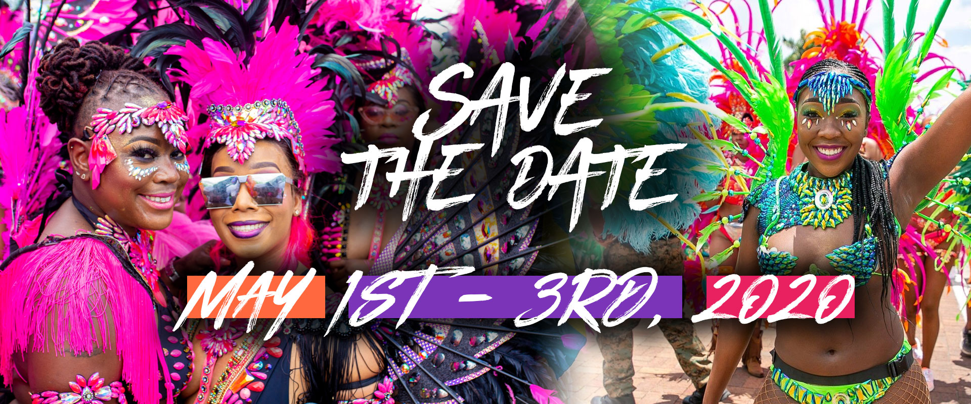 Save the Date May 1st - 3rd 2020